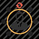 affiliate, affiliate marketing, employee, refer, refferal program icon