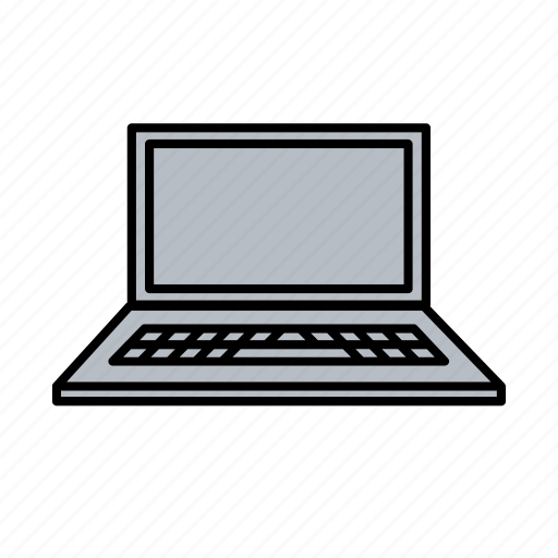 computer, connection, internet, laptop, office, sharing, work icon