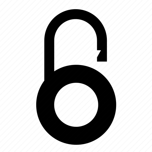 lock, padlock, password, secure, security, unlock icon