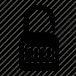 lock, padlock, password, secure, security, unlock icon