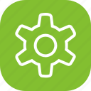 cog, con, gear, guration, options, settings icon