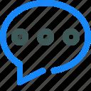 chat, comment, conversation, message