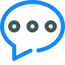 chat, comment, conversation, message icon
