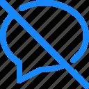 chat, comment, conversation, message, slash