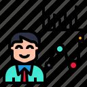 analysis, business, commerce, examination, trading