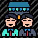 business, commerce, partner, partnership, stockholder