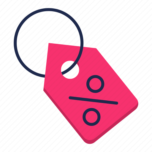 commerce, coupon, discount, sale, tag icon