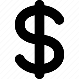 cash, currency, dollar, dollar currency, money, price icon