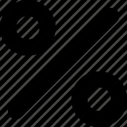 commission, fee, percent, percentage, precent, ratio icon
