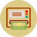 atm, money, payment, withdraw icon