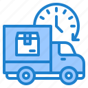 delivery, truck, shipping, time, logistic