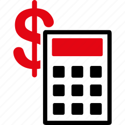 business, calculate, calculation, calculator, dollar, finance, financial icon