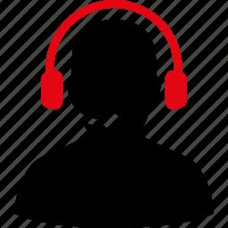 business, call center, communication, operator, service, telemarketing, telephone icon
