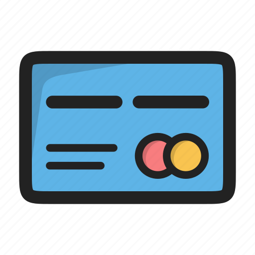 card, credit card, debit, mastercard, payment icon