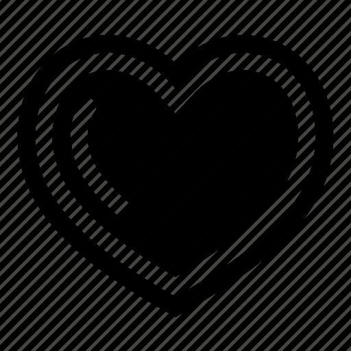 amour, cardio, health, heart, life, like, love icon