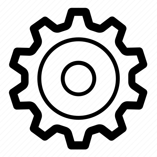 cog, config, configuration, gear, options, preferences, settings icon