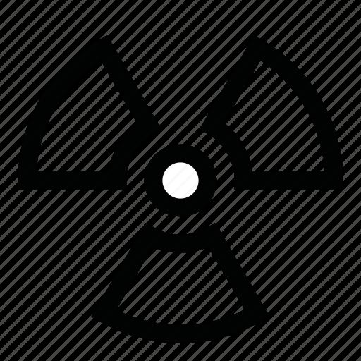 caution, danger, hazard, radiation, sign, symbols, warning icon