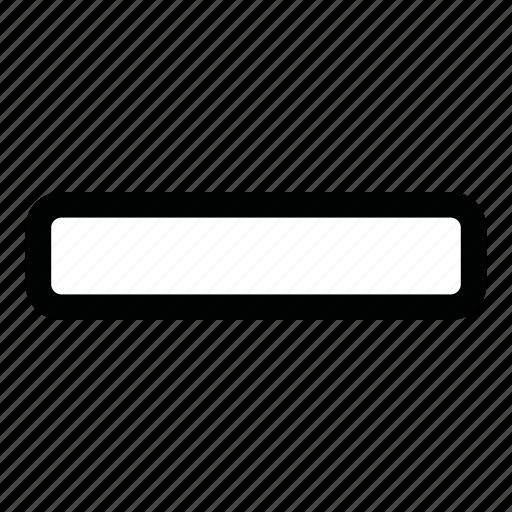 Count, decrease, delete, minus, ui, dash, remove icon - Download on Iconfinder