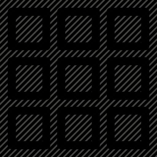 blocks, design, interface, layout, tile, tiles, ui icon