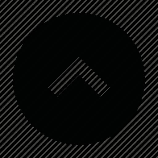 arrow, chevron, direction, scroll, top, ui, up icon