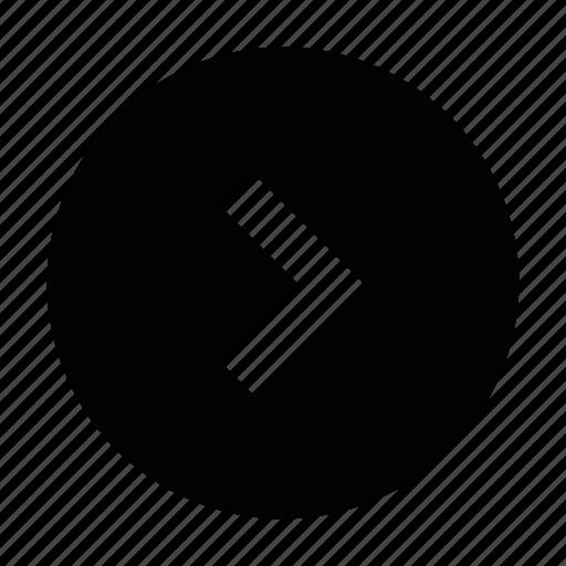 arrow, chevron, next, page, right, slide, ui icon