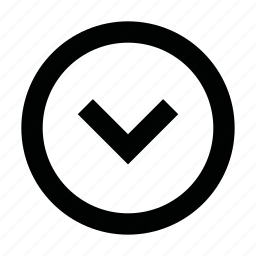 arrow, bottom, chevron, down, scroll, ui, web icon