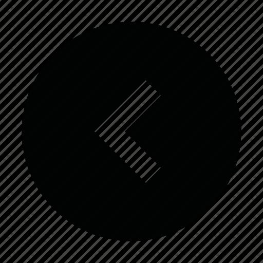 chevron, left, page, prev, previous, slide, ui icon