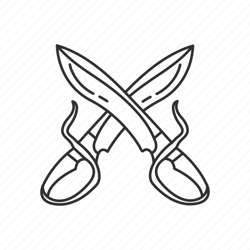 blade, butterfly sword, dual, melee, sword, twin, weapon icon
