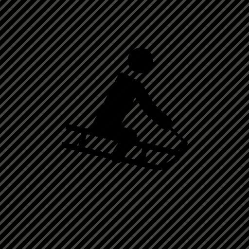 sled, sledder, sledding, sledger, sleigher icon