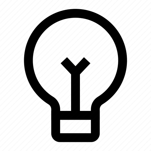 bulb, business, creative, idea, light icon