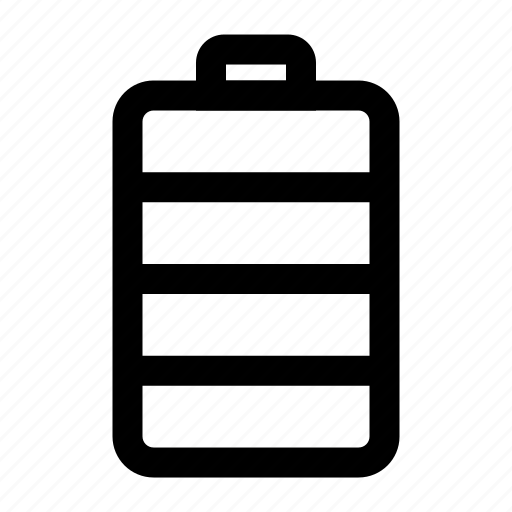 battery, cell, full, mobile, phone icon