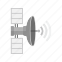 antenna, communication, dish, radar, satellite, space, wireless icon