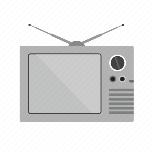broadcasting, communication, connection, screen, set, technology, television icon