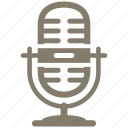 microphone, multimedia, record icon