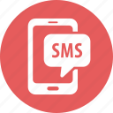 message, smartphone, sms