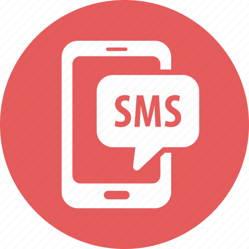 message, smartphone, sms icon