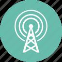 communication tower, radio, television