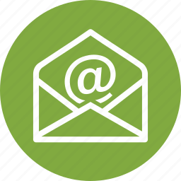 contact us, email, message icon