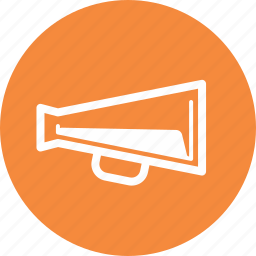 advertising, bullhorn, marketing, megaphone icon