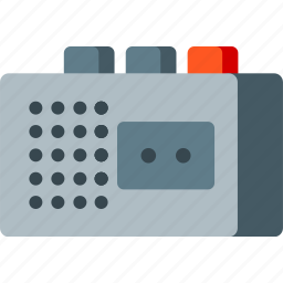audio, cassette, media, multimedia, music, recorder, tape icon