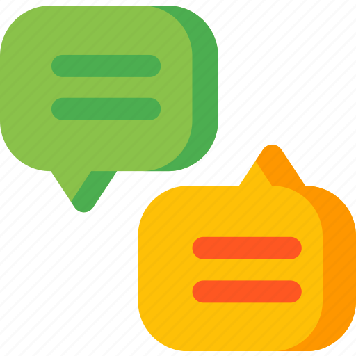 bubble, chat, communication, interaction, message, talk icon