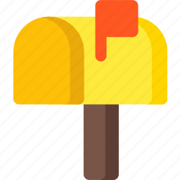 box, communication, delivery, email, mail, package, post icon