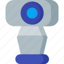 cam, camera, chat, conference, live, video, webcam icon