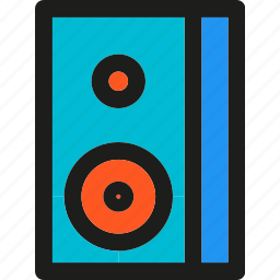 audio, multimedia, music, player, sound, speaker, volume icon