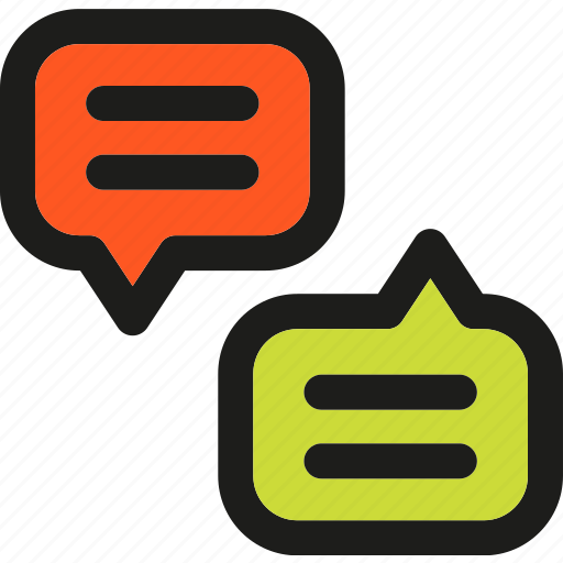 bubble, chat, communication, interaction, message, speech, talk icon