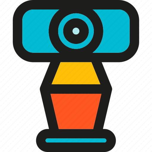 camera, communication, media, message, video, web, webcam icon