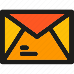 communication, email, envelope, letter, mail, message, packat icon