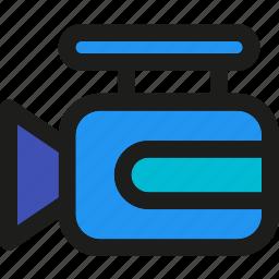 cam, camera, communication, media, multimedia, record, video icon