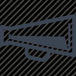 advertising, bullhorn, marketing, megaphone icon