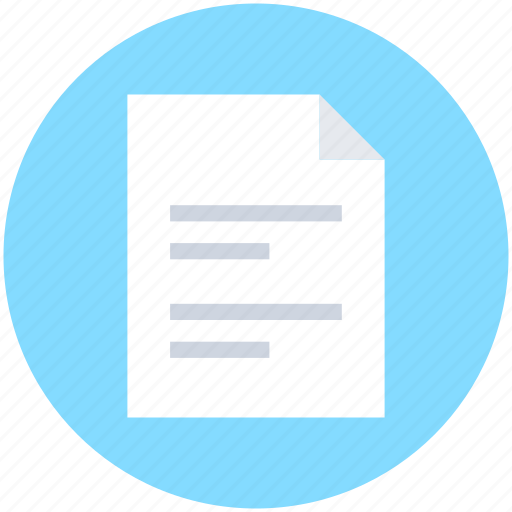 contract, document, letter, sheet, text sheet icon